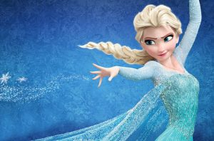 Elsa+straight+out+of+the+salon