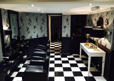 soho salon zotan keratin treatment, digital perming, hair straightening