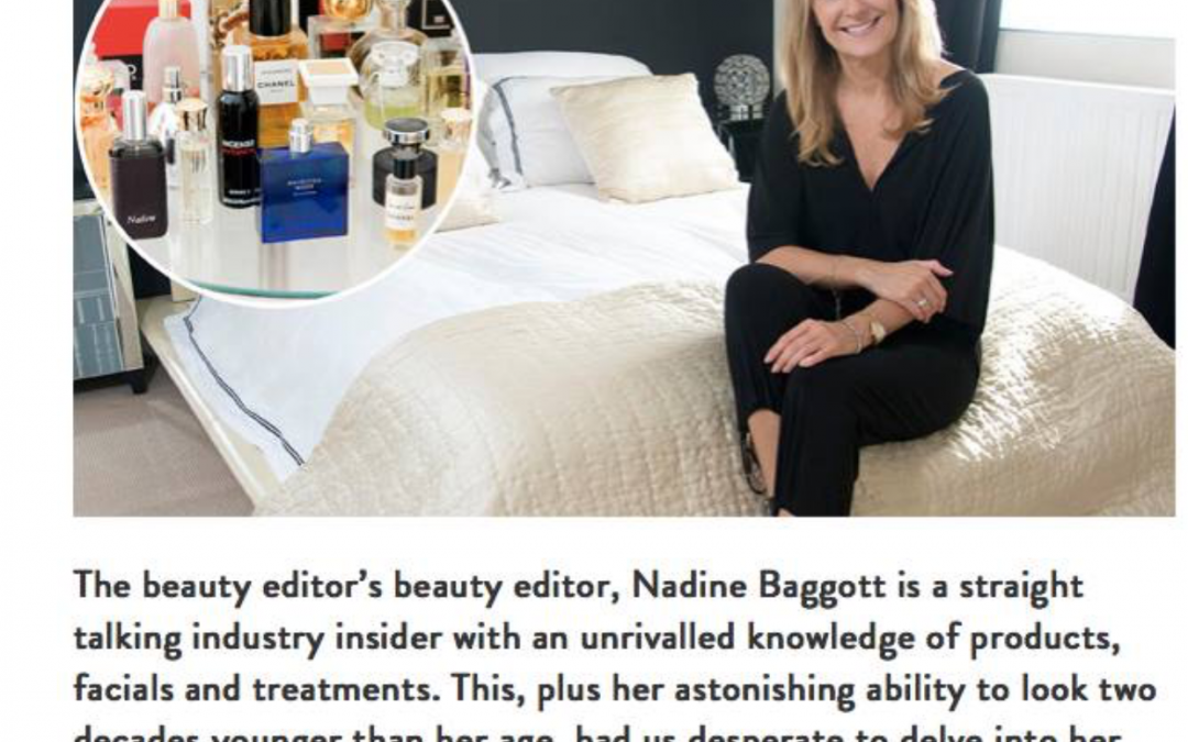 Nadine Baggott mentions Zoltan in an interview in Red magazine