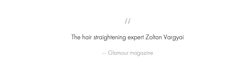 press quote for Zoltan
