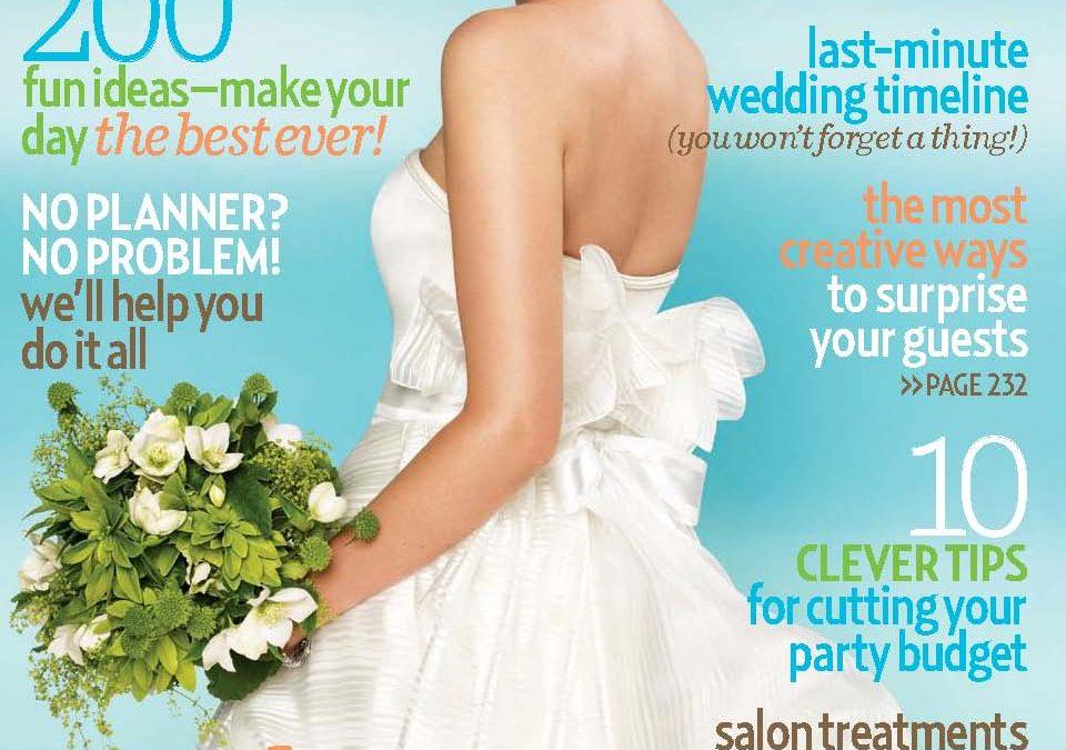 Brides magazine features Zoltan