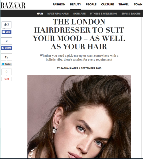Harper's Bazaar recommends Zoltan for spiritual mood